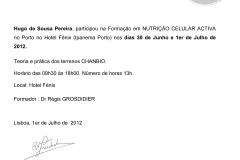 HUGO PEREIRA - NUTRIÇÃO CELULAR ACTIVA