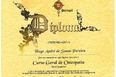 HUGO PEREIRA - OSTEOPATIA